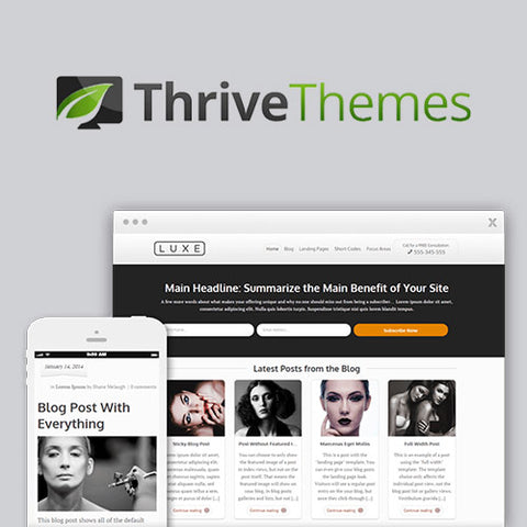Thrive Themes Luxe WordPress Theme
