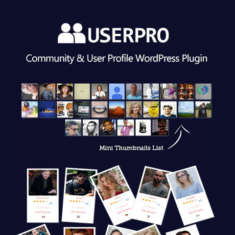 UserPro – Community and User Profile WordPress Plugin