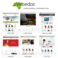Venedor – WordPress + WooCommerce Theme