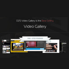 Video Gallery WordPress Plugin /w YouTube, Vimeo, Facebook pages