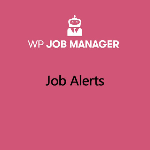 WP Job Manager Job Alerts Addon