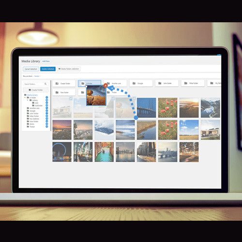 WP Media Folder – Media Library with Folders