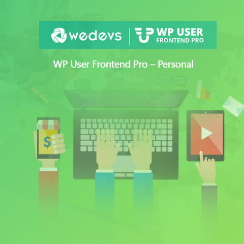 WP User Frontend Pro – Personal