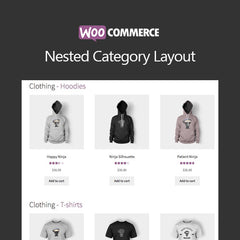 WooCommerce Nested Category Layout