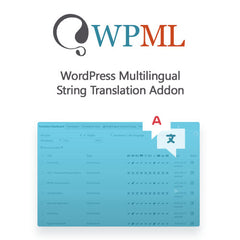 WordPress Multilingual String Translation Addon