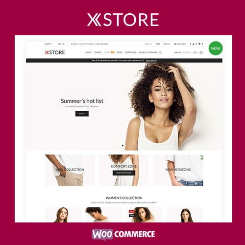 XStore – Responsive Multi-Purpose WooCommerce Theme