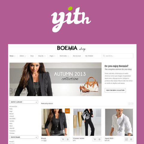 YITH Boemia – The Best WordPress E-Commerce Theme