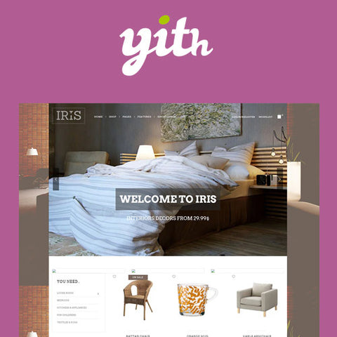 YITH Iris – Interior Design WordPress Theme