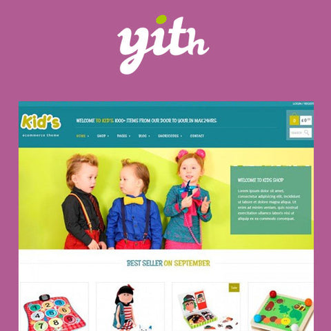 YITH Kidshop – A Creative Kid's E-Commerce Theme