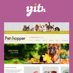 YITH Petshopper – E-Commerce Theme for Pets Products