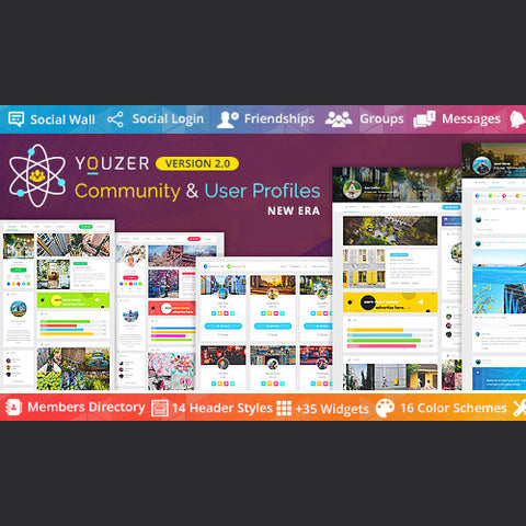 Youzer – Community & User Profiles Management