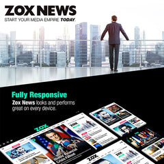 Zox News – Professional WordPress News & Magazine Theme