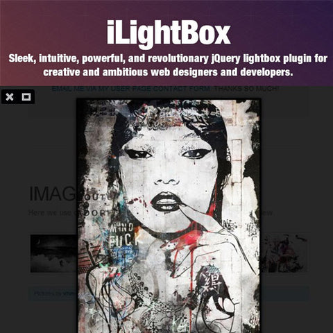 iLightBox · Revolutionary Lightbox for WordPress