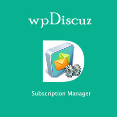 wpDiscuz – Subscription Manager