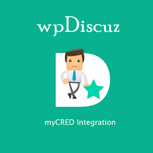 wpDiscuz – myCRED Integration