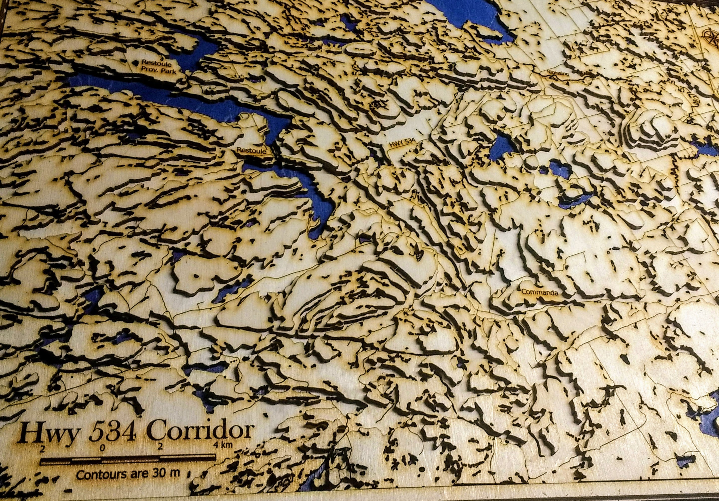 Custom Topographic Map
