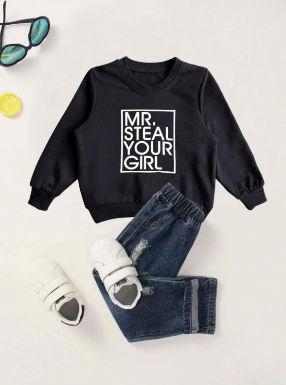Boys Mr Steal Your Girl Sweatshirt