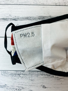 Activated Carbon Filters PM2.5 for Soft Cloth Face Covers