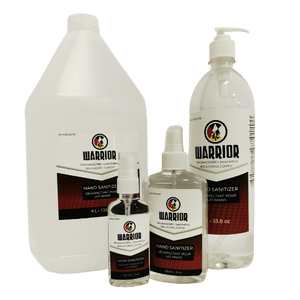 Warrior Hand Sanitizer - MMK Supply