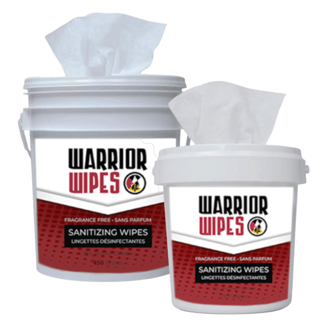 Warrior Wipes - Sanitizing Wipes - MMK Supply