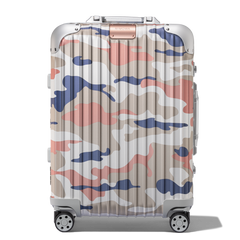 Matching suitcases by Rimowa