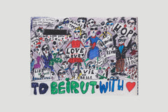 'To Beirut with Love' print