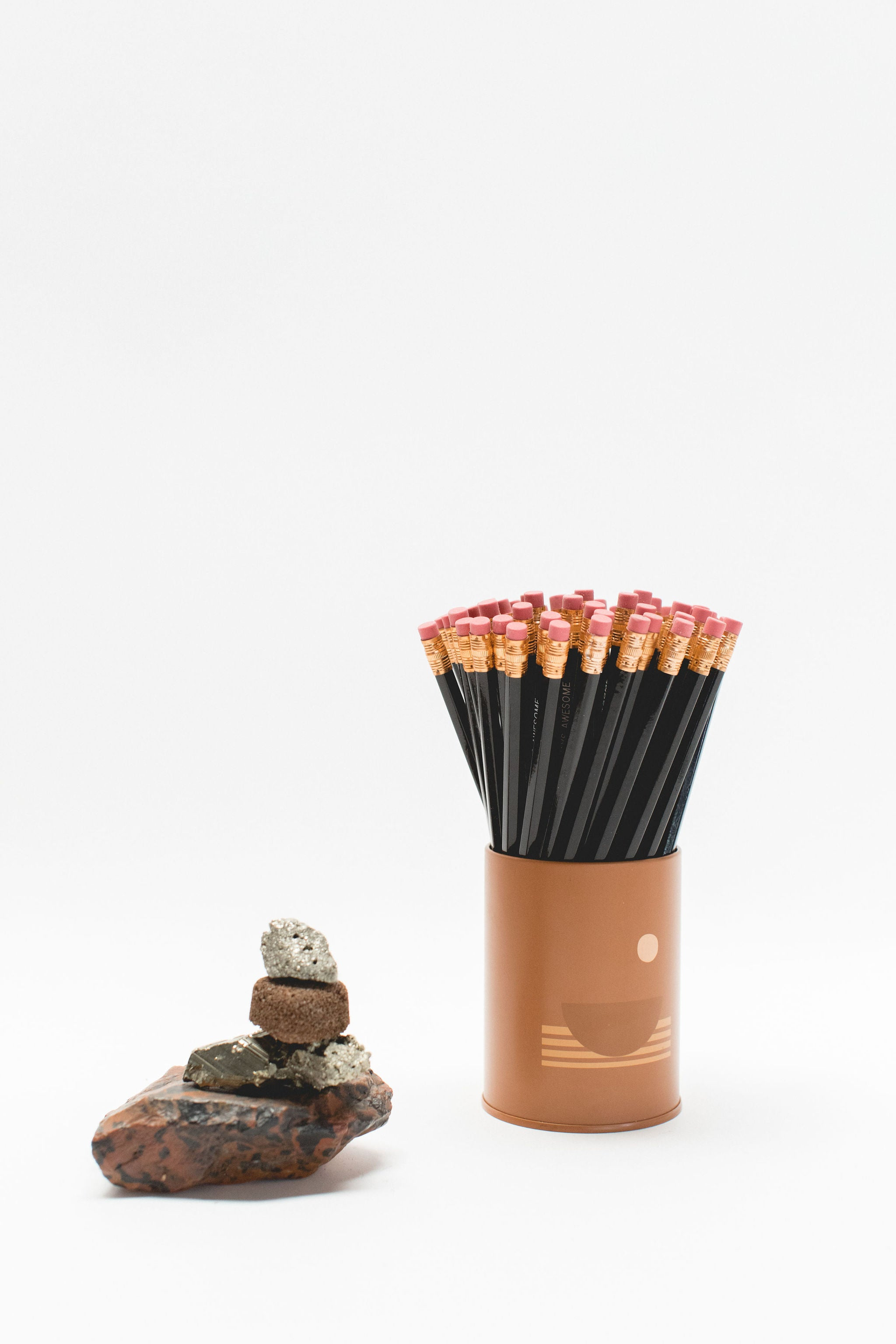 Candle-Turned-Pencil Holder