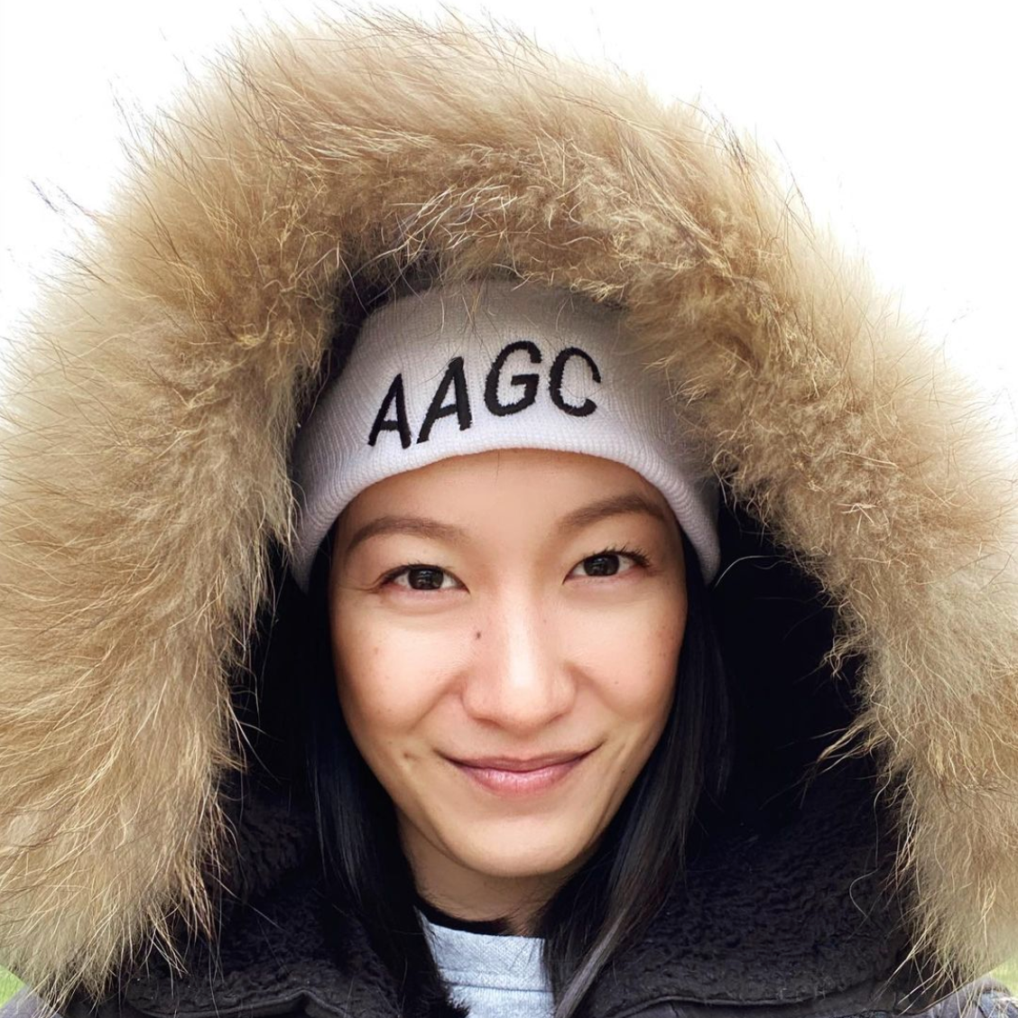 Asian American Girl Club Beanie