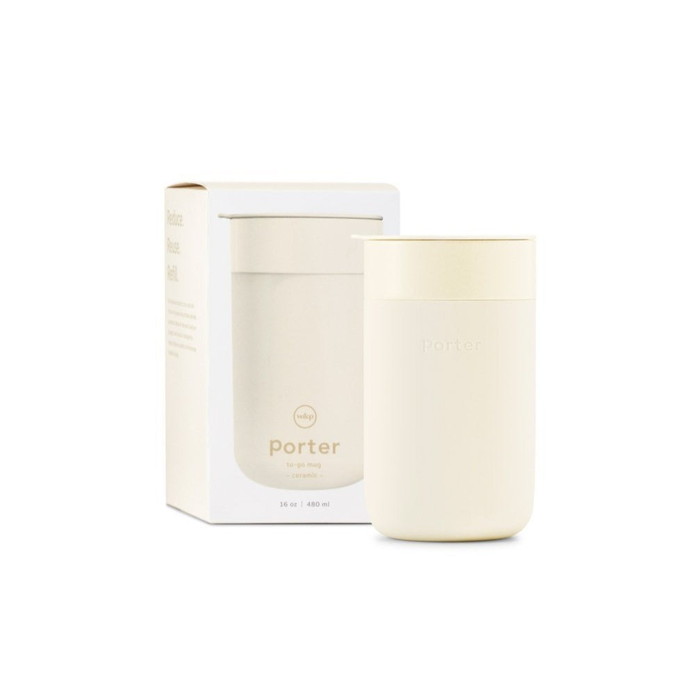 Porter Mug in Cream, XL