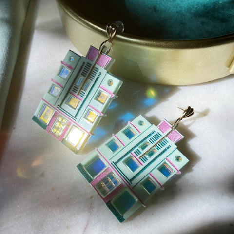 Miami Hotel Earrings
