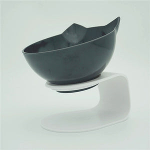 Non-slip Double Bowl l With Stand Feeding For cats and Dogs