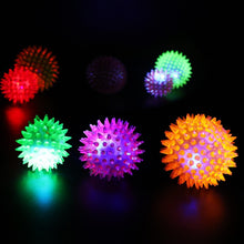 Load image into Gallery viewer, Interactive Rubber Balls Lighting Dog Toy