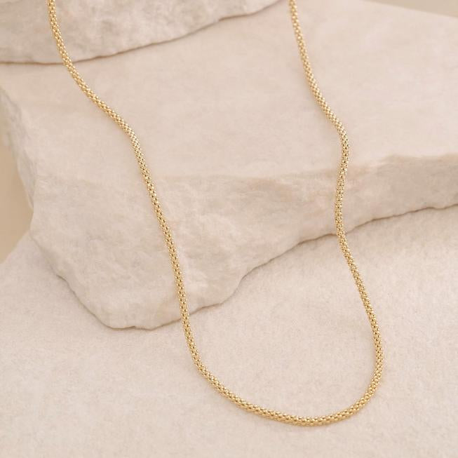 By Charlotte - Gold Divine Connection Choker