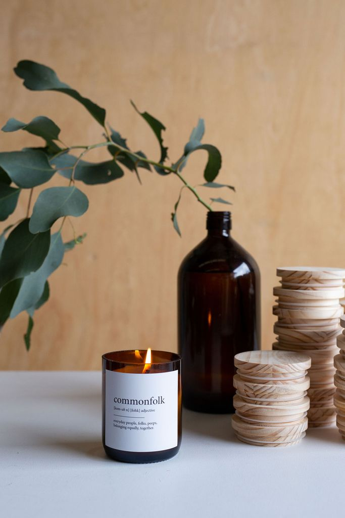 The Commonfolk Collective - Dictionary Meaning Soy  Candle - Bestie