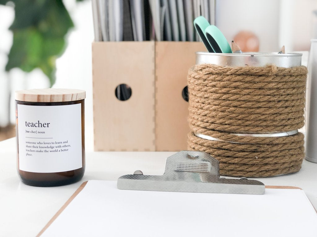 The Commonfolk Collective - Dictionary Meaning Soy  Candle - Teacher