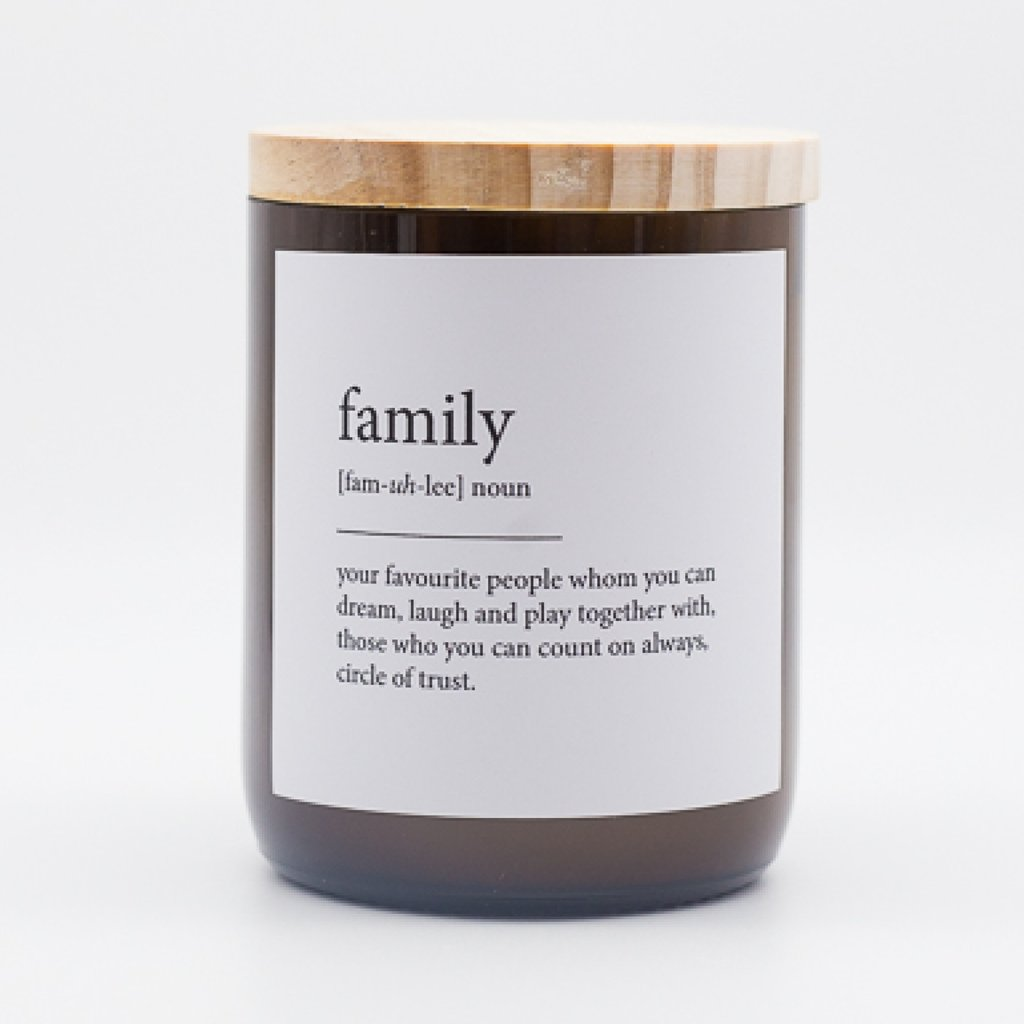 The Commonfolk Collective - Dictionary Meaning Soy Candle - Family - Byron