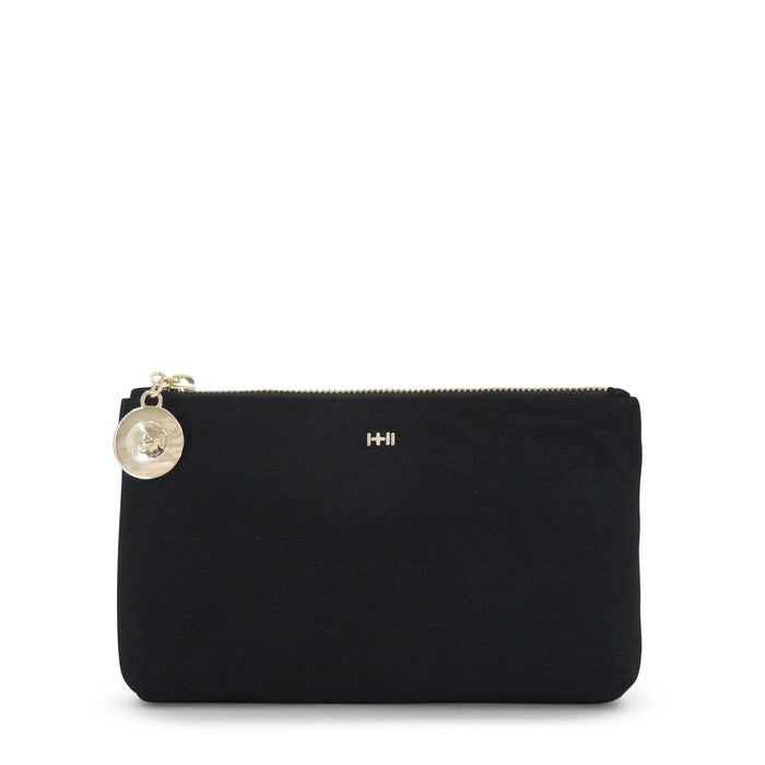 Dylan Kain - The Gigi Pouch Satin Nylon - Black/Gold
