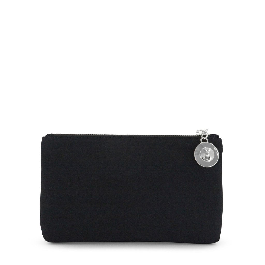 Dylan Kain - The Gigi Pouch Satin Nylon - Black/Silver