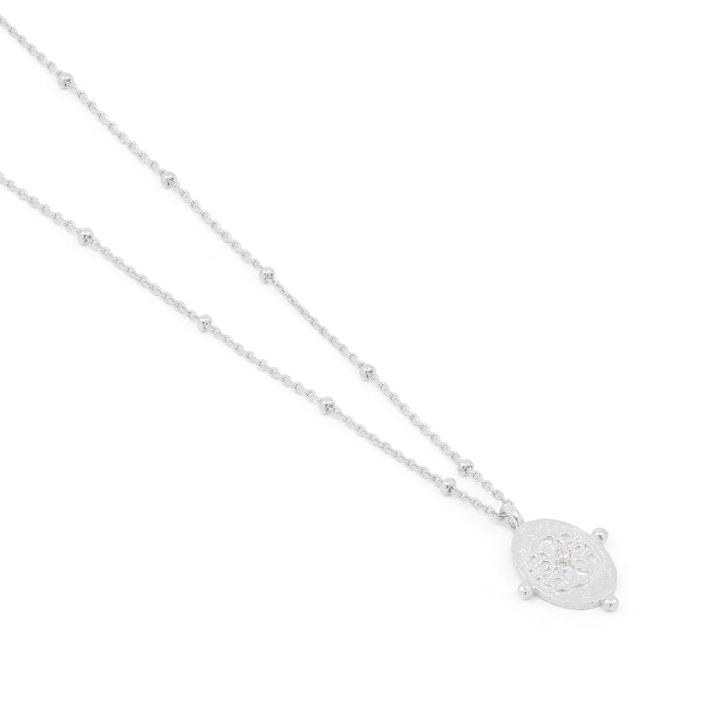By Charlotte - Path of Life Necklace - Silver