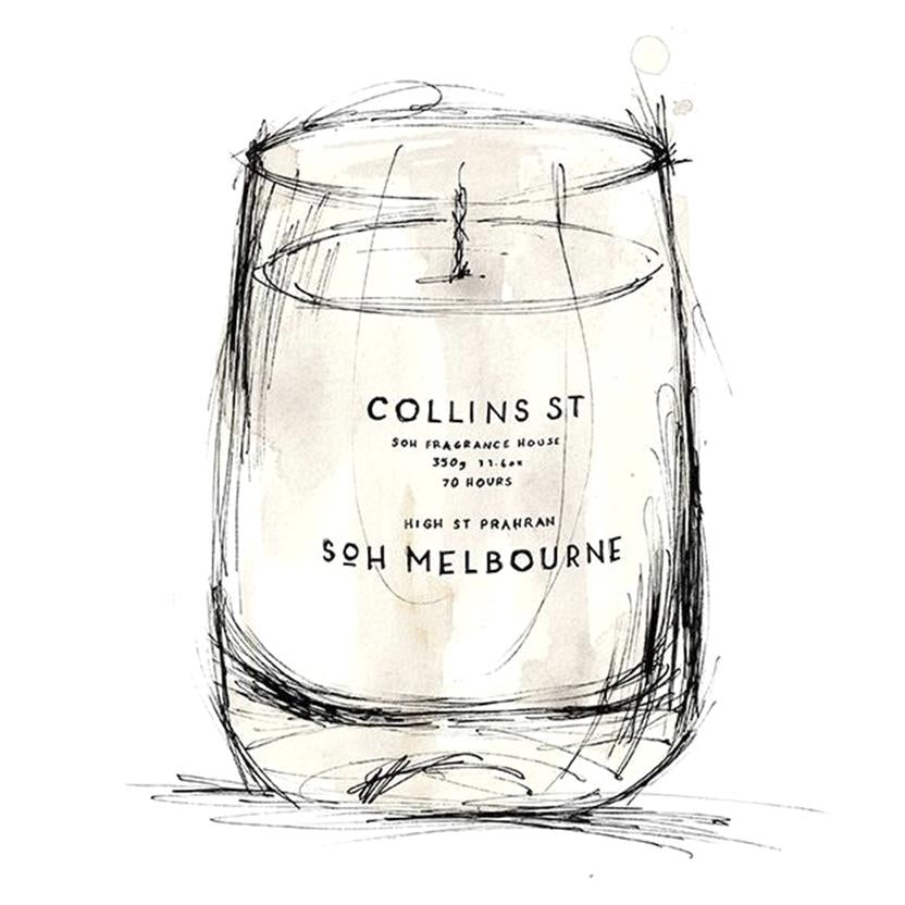 SOH Melbourne - Collins Street - White Matte Glass