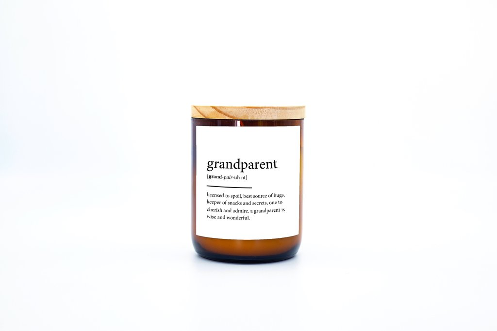 The Commonfolk Collective - Dictionary Mid Soy Candle - Grandparent - Palm Dessert