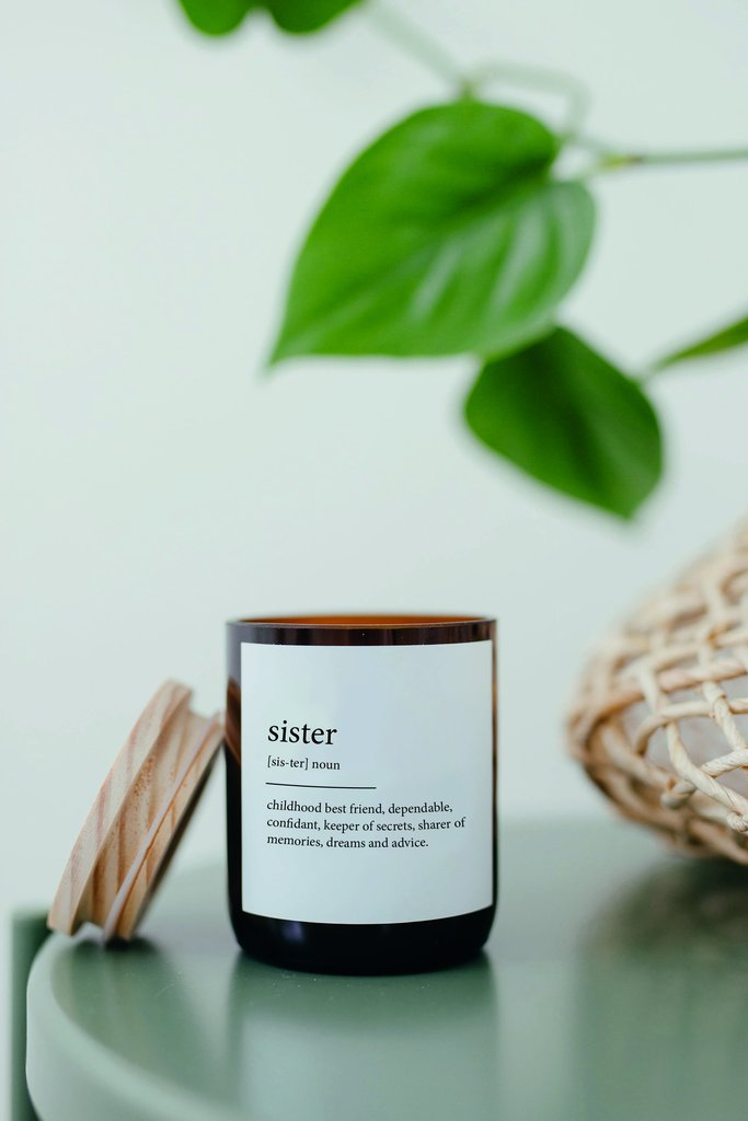 The Commonfolk Collective - Dictionary Meaning Soy Candle - Sister