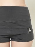 Women's  Scrunch Shorts (Grey)