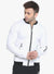 Men's Bomber Jacket- White