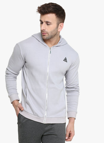 Men's Hoodie Jacket - Grey
