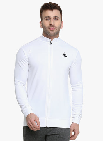 Men's Dry Fit  Jacket - White