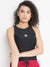 Women Vest Active Wear TOP (Black)