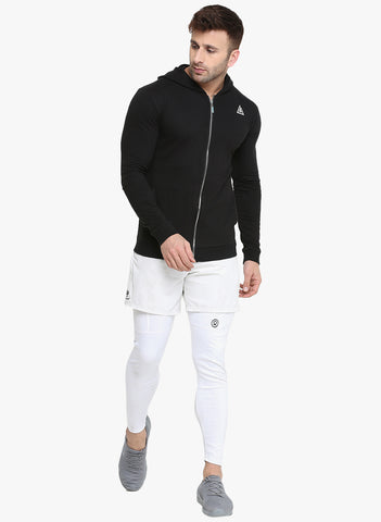 Men's Hoodie Jacket - Black