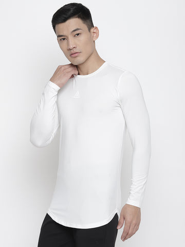 Full Sleeves T-shirts-White