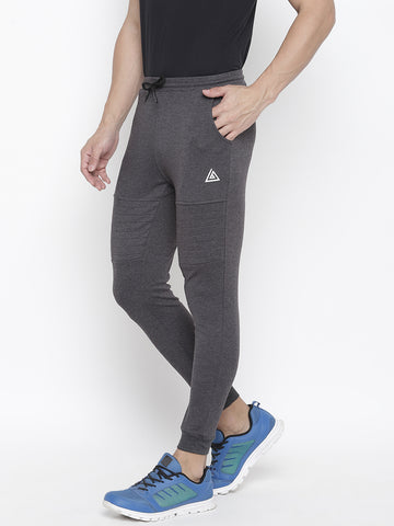 Men's Quilted Jogger Series  -Charcoal Grey